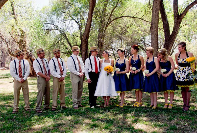 boda al estilo retro