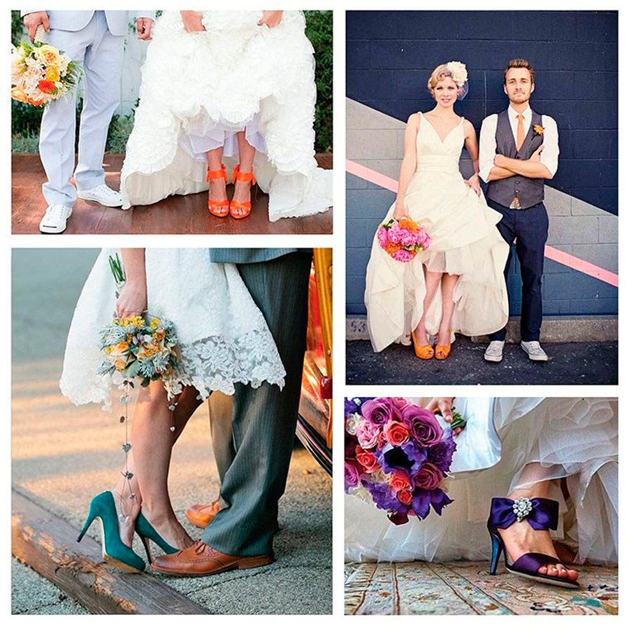 zapatos de novia - 5 tendencias de boda que te enamorarán